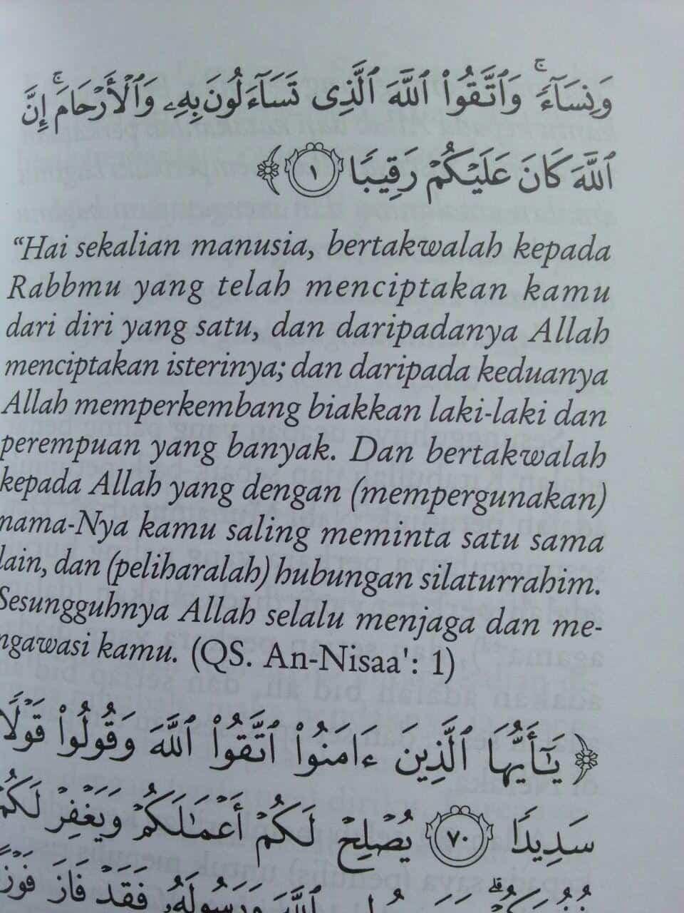 Buku Musibah Terbesar Umat Islam isi 3