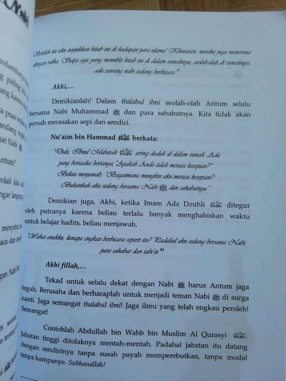 Buku Pemuda Di Warna-Warni Thalabul Ilmi isi 2