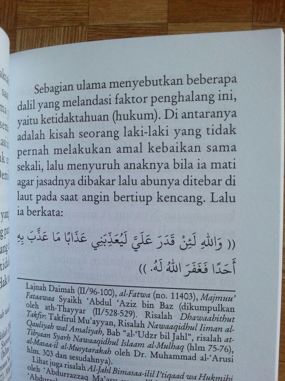 Buku Vonis Kafir Dalam Timbangan Islam isi 3