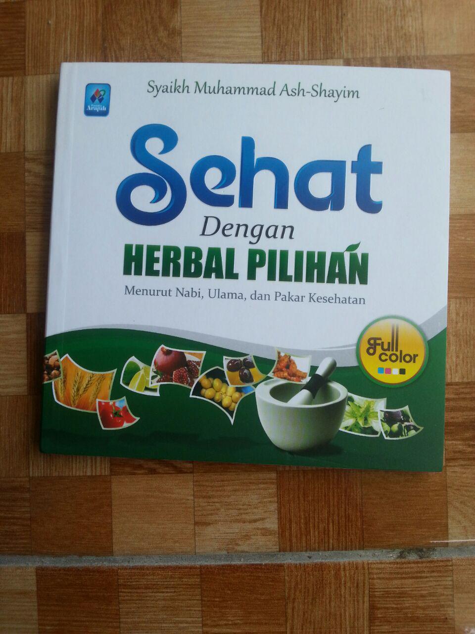 Buku Sehat Dengan Herbal Pilihan cover 2