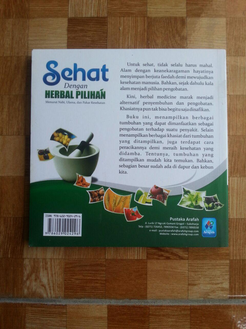 Buku Sehat Dengan Herbal Pilihan cover