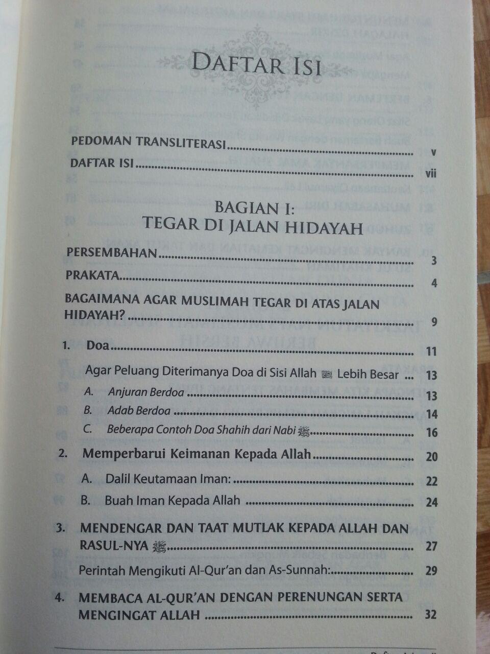Buku Panduan Tarbiyah Wanita Shalihah isi 2