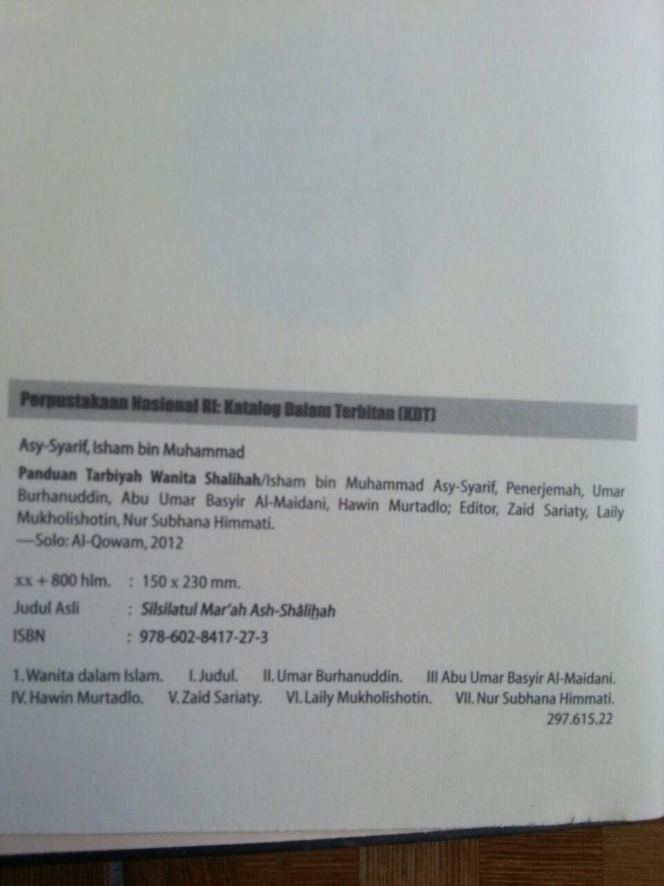 Buku Panduan Tarbiyah Wanita Shalihah isi 4