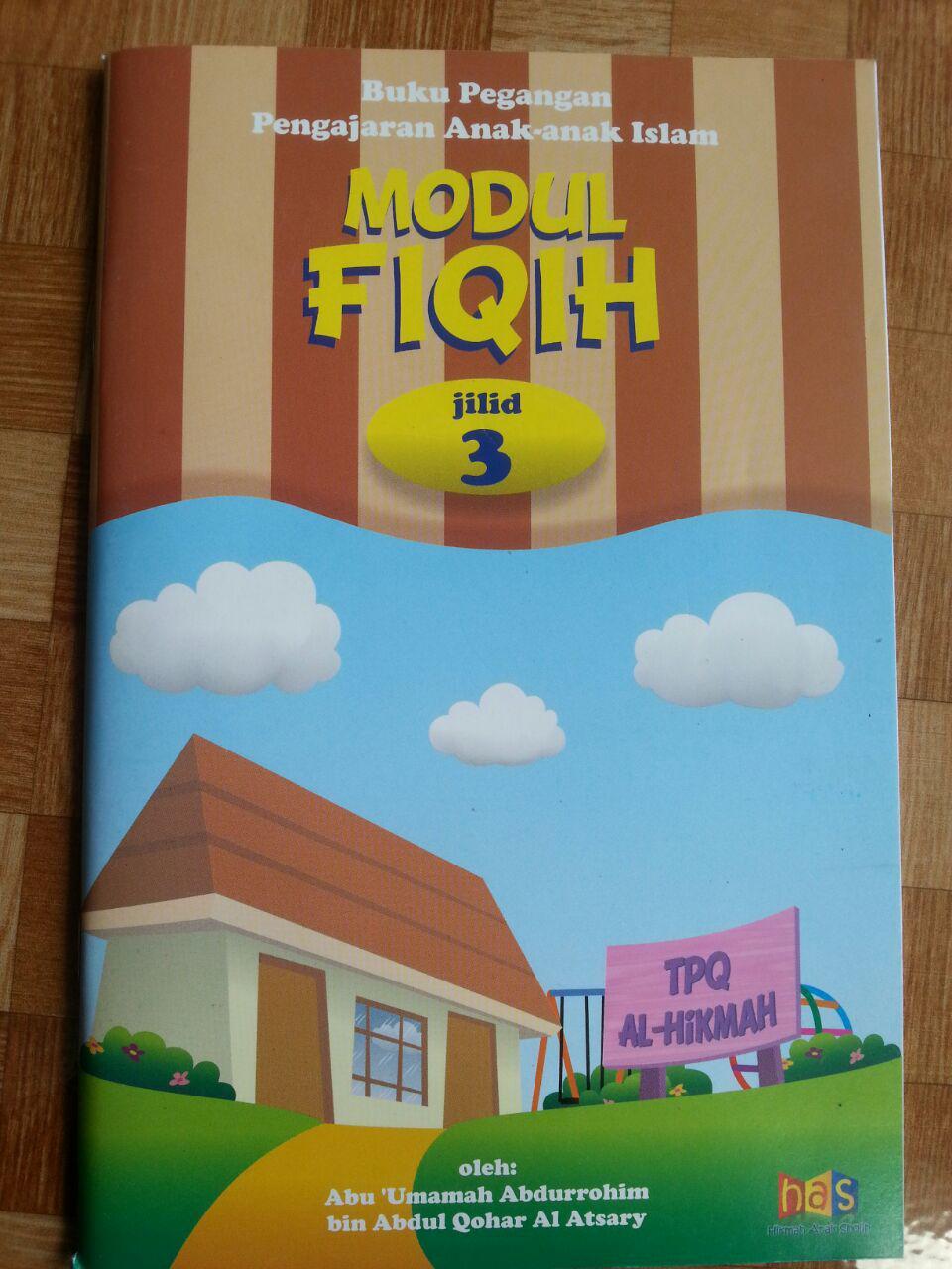 Buku Pegangan Pengajaran Anak Islam Modul Fiqih 3 cover 2