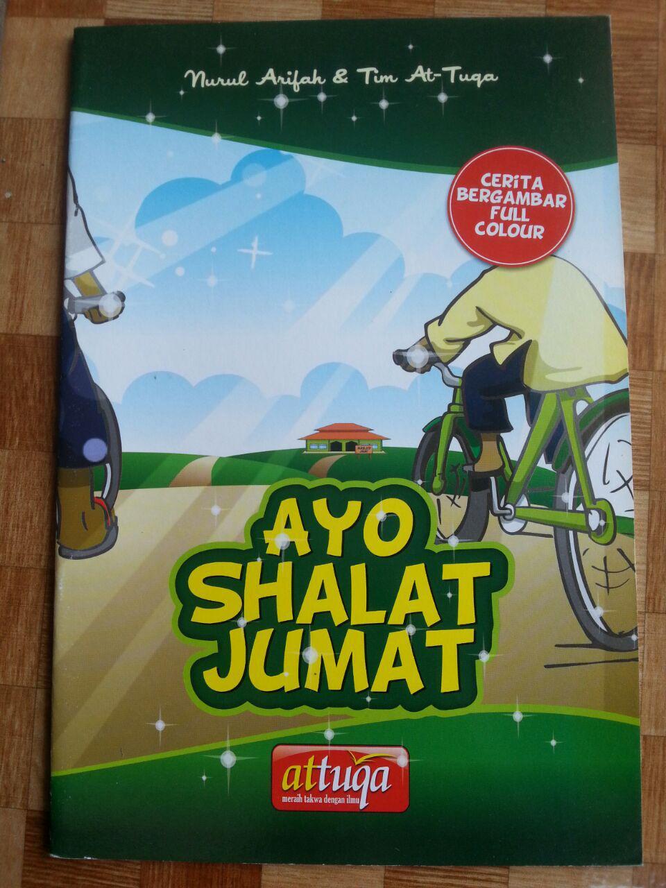 Buku Anak Ayo Shalat Jum'at cover 2