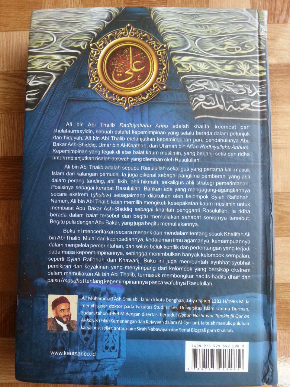 Buku Biografi Ali bin Abi Thalib cover