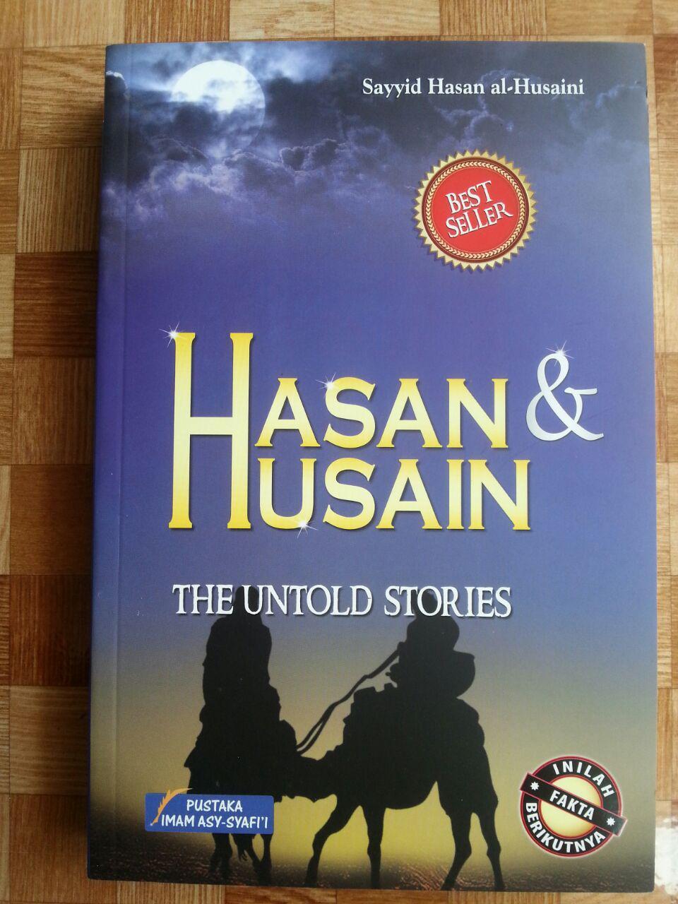 Buku Hasan Dan Husain The Untold Stories cover 2