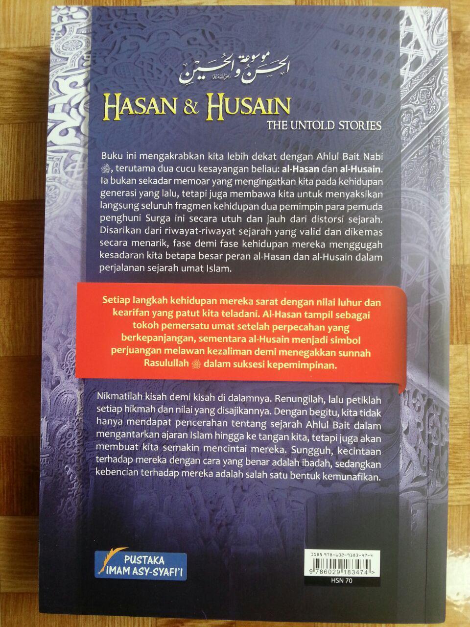 Buku Hasan Dan Husain The Untold Stories cover