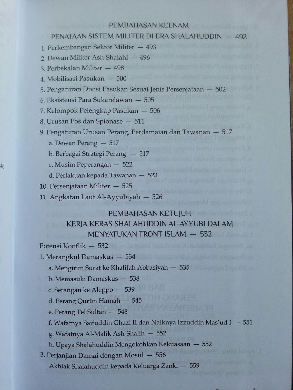 Buku Shalahuddin Al-Ayyubi isi 2
