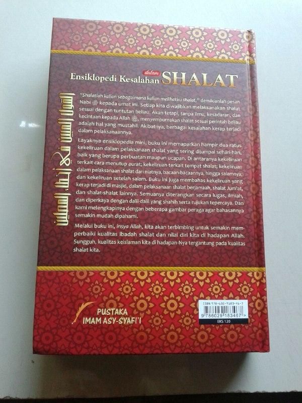 Buku Ensiklopedi Kesalahan Dalam Shalat Dilengkapi Foto Peraga cover