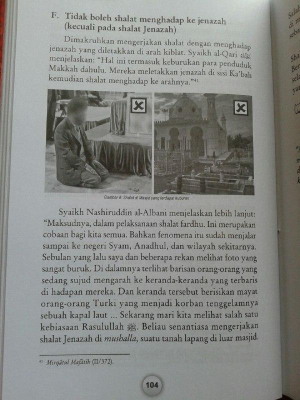 Buku Ensiklopedi Kesalahan Dalam Shalat Dilengkapi Foto Peraga isi 2