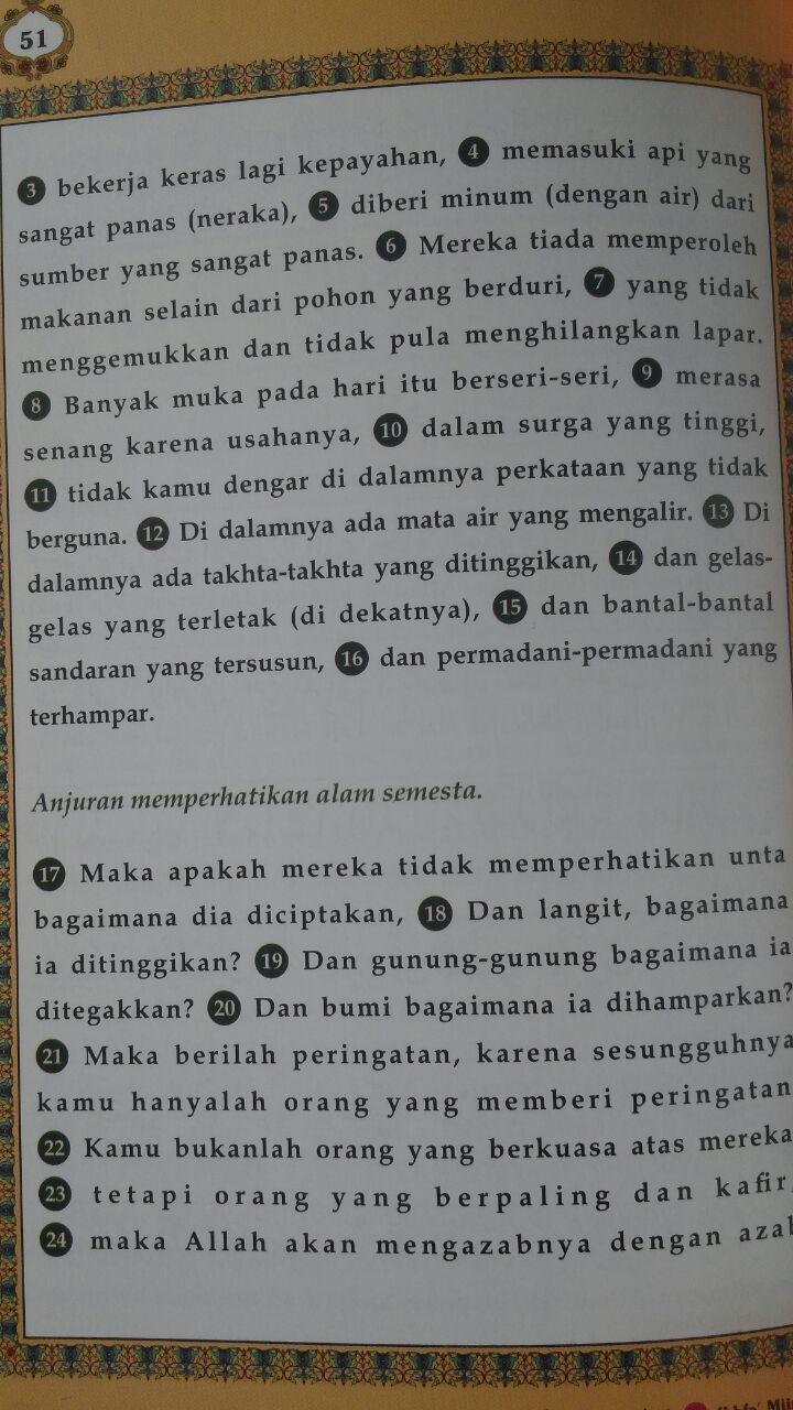 Al-Quran Juz Amma Tajwid Arab-Latin-Terjemah isi
