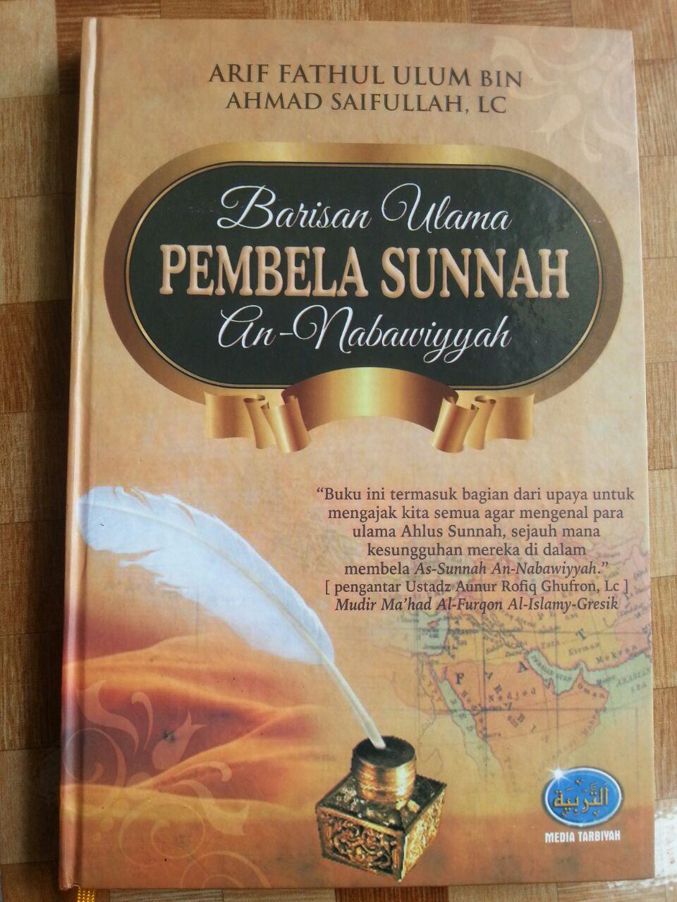 Buku Barisan Ulama Pembela Sunnah An-Nabawiyyah cover 2