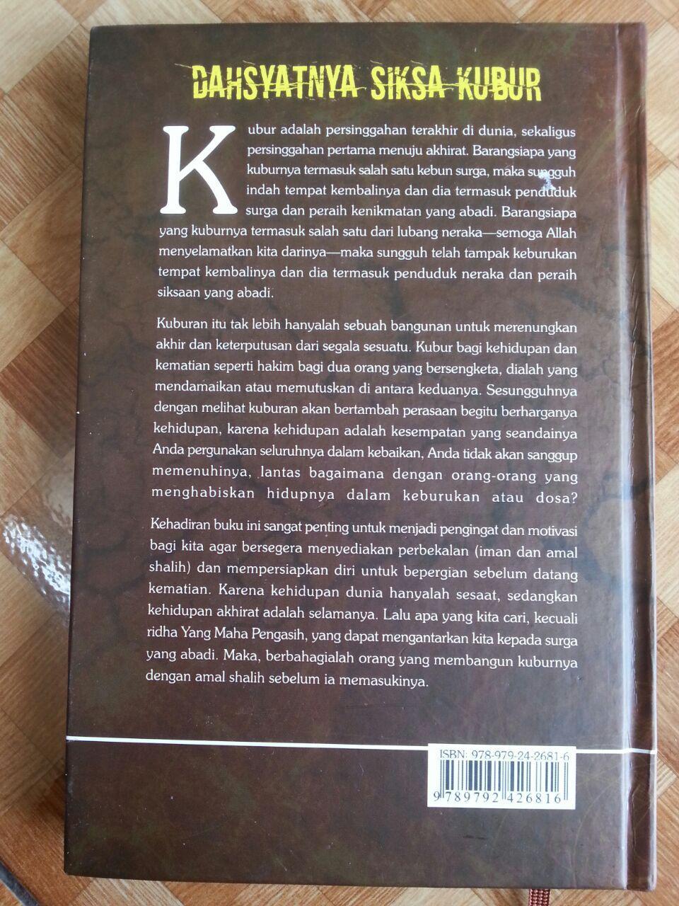 Buku Dahsyatnya Siksa Kubur cover
