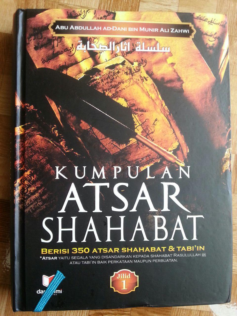 Buku Kumpulan Atsar Shahabat 1 Set 2 Jilid cover 3