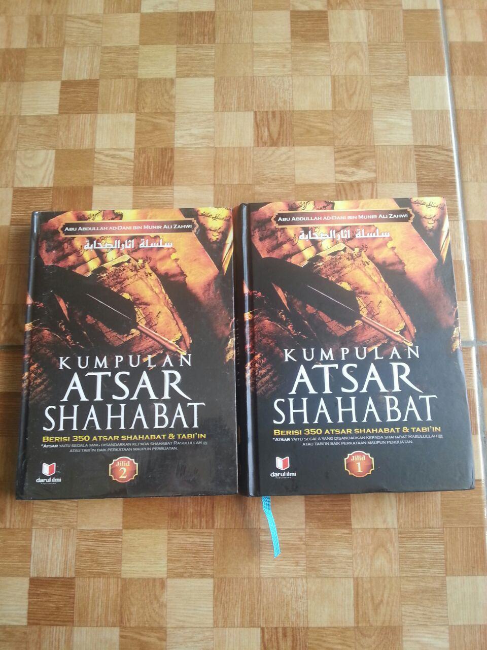 Buku Kumpulan Atsar Shahabat 1 Set 2 Jilid cover