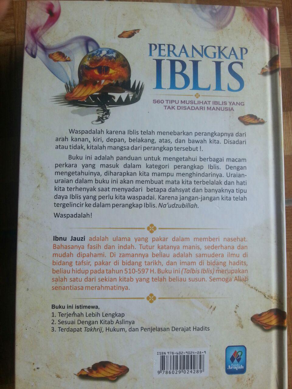 Buku Perangkap Iblis cover