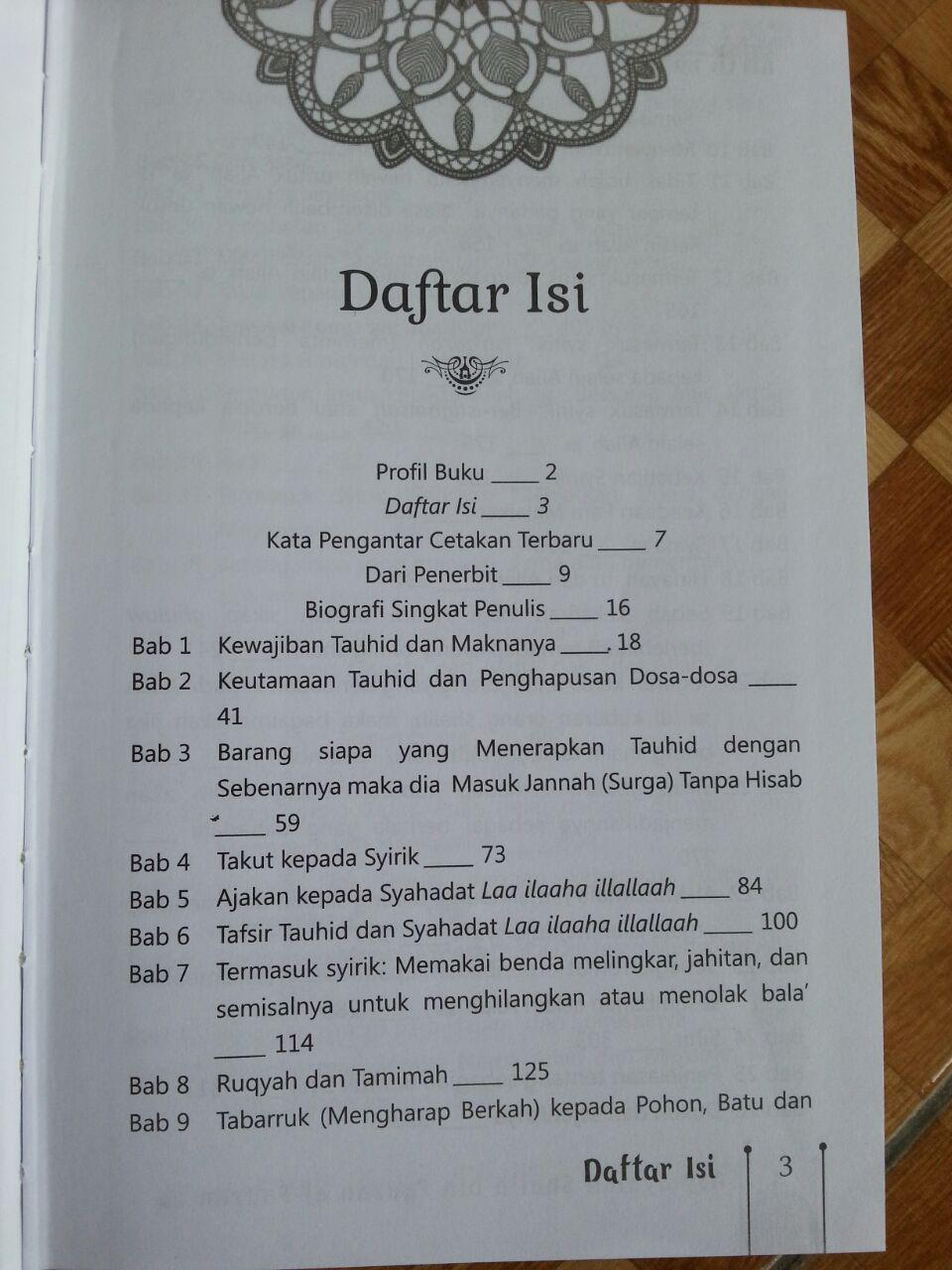 Buku Ringkasan Syarah Kitab Tauhid isi 2