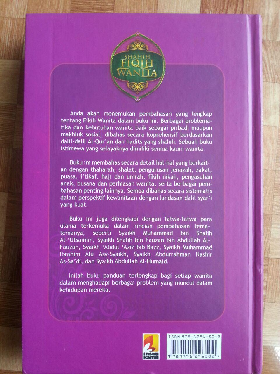 Buku Shahih Fiqih Wanita Syaikh Abu Ubaidah Usamah cover