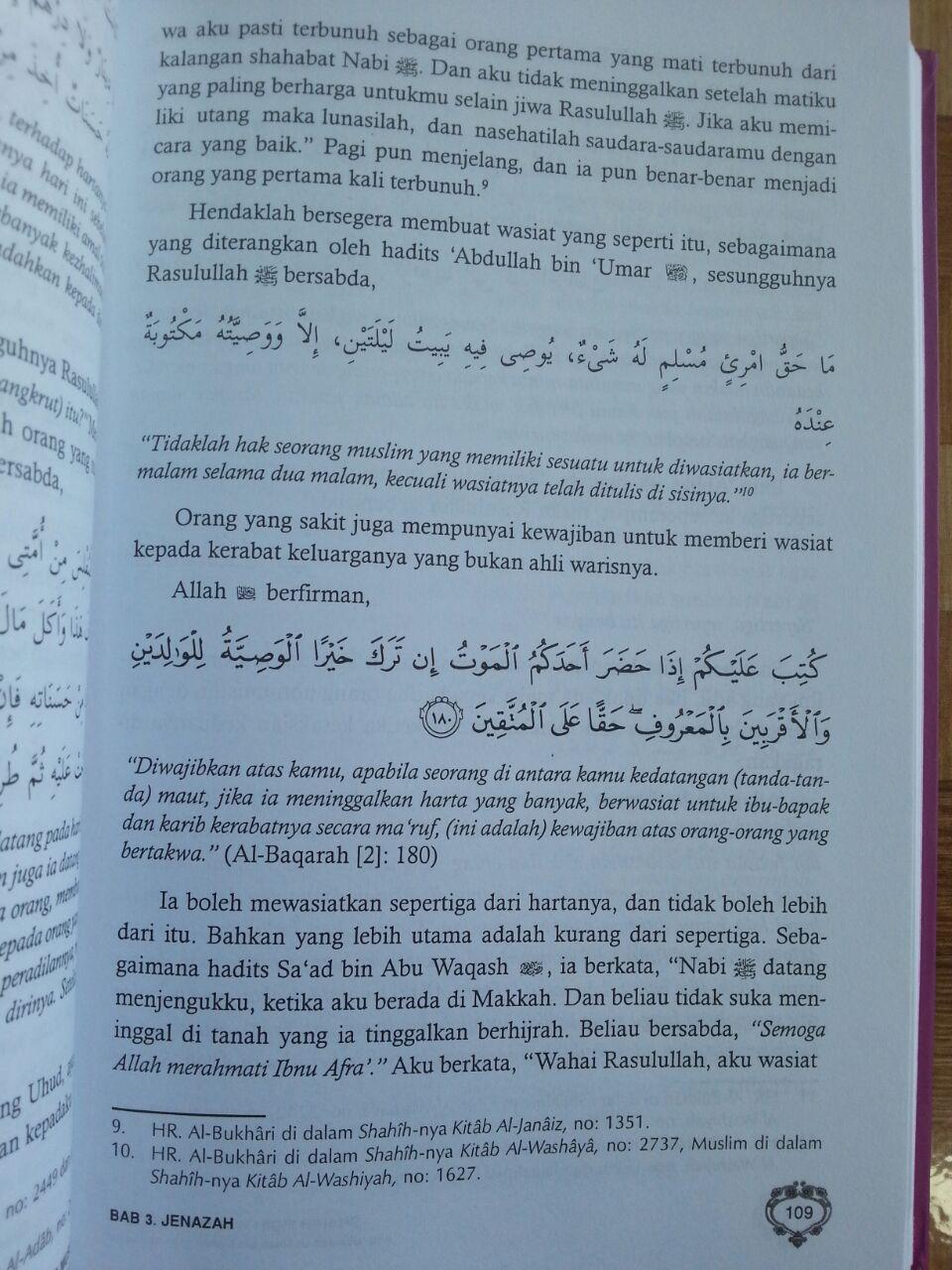 Buku Shahih Fiqih Wanita Syaikh Abu Ubaidah Usamah isi 3