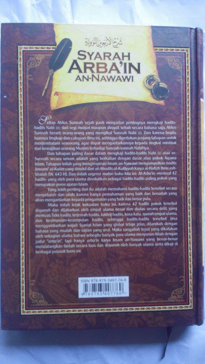 Buku Syarah Arbain An-Nawawi cover 2