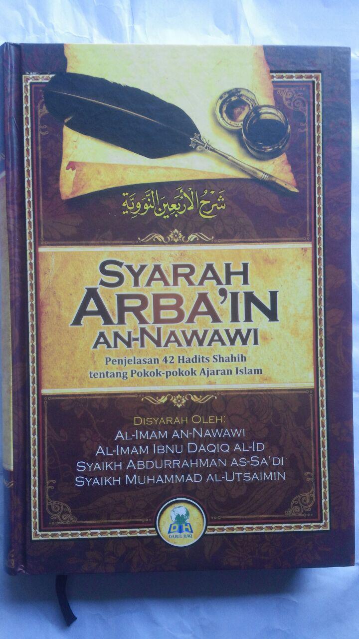 Buku Syarah Arbain An-Nawawi cover