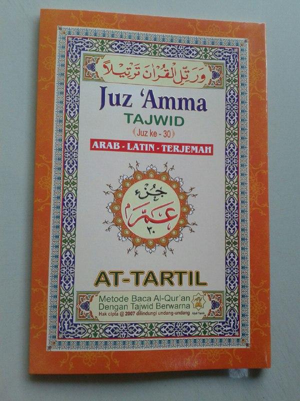 Al-Quran Juz Amma Tajwid Arab-Latin-Terjemah cover