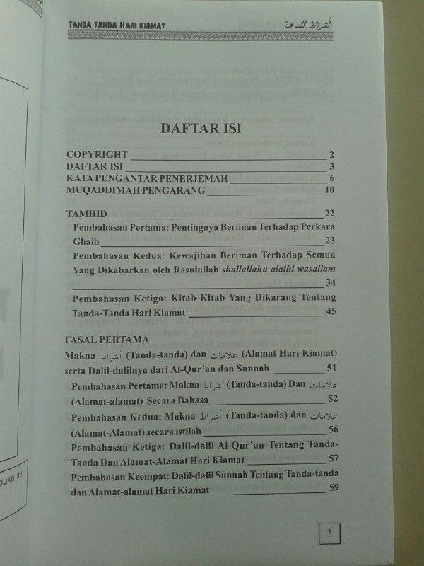 Buku Tanda-Tanda Hari Kiamat isi 2