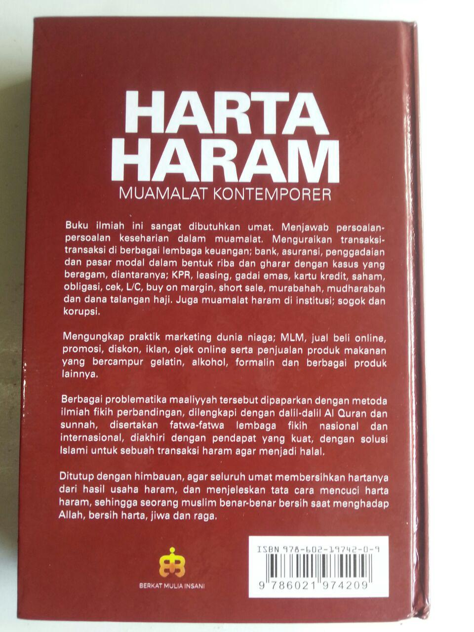 Buku Harta Haram Muamalat Kontemporer new cover