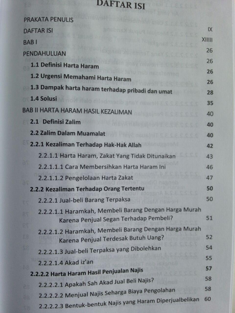 Buku Harta Haram Muamalat Kontemporer new isi