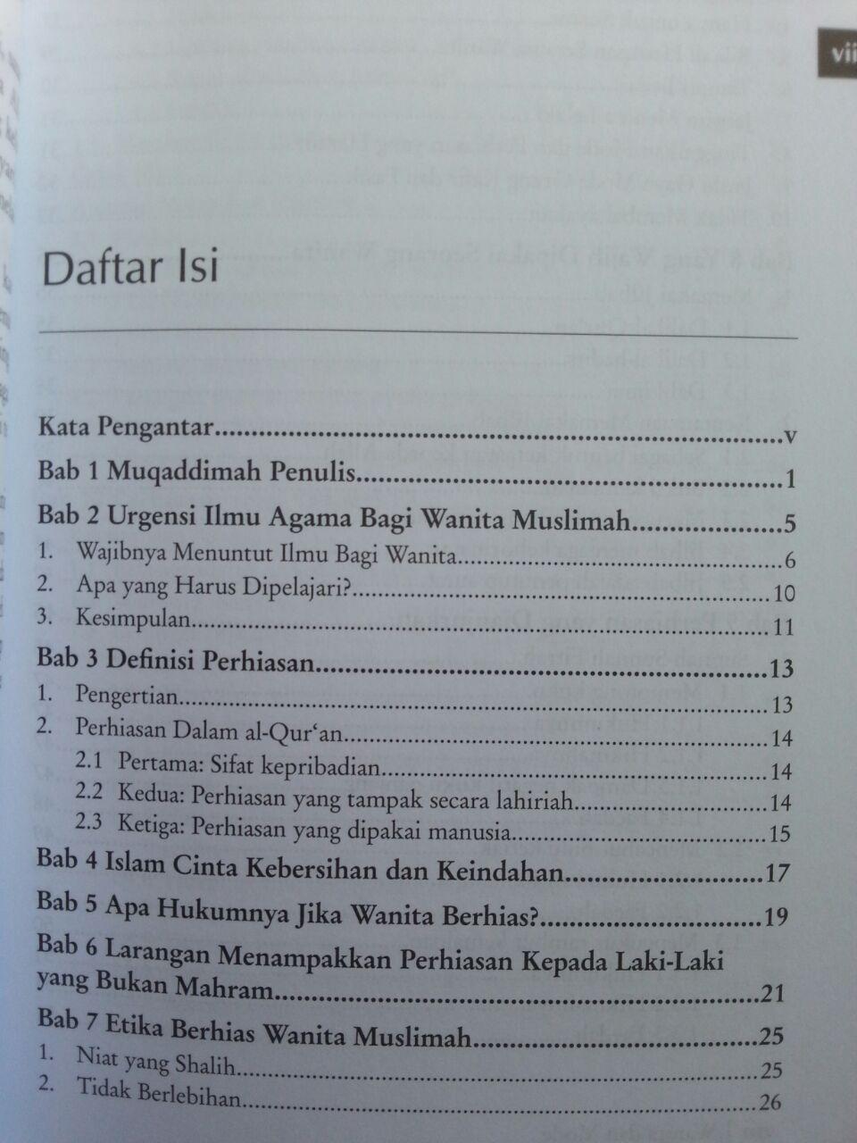 Buku Wanita Dan Mode Panduan Berhias Wanita Sesuai Al-Quran dan As-Sunnah isi 2