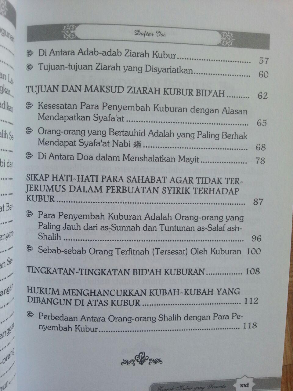 Buku Ziarah Kubur Yang Ternoda isi 2
