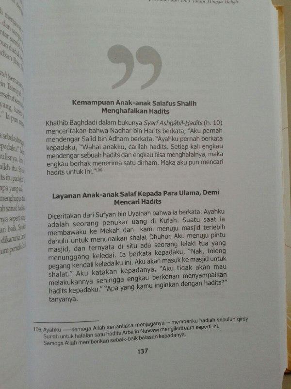 Buku Mendidik Anak Bersama Nabi isi