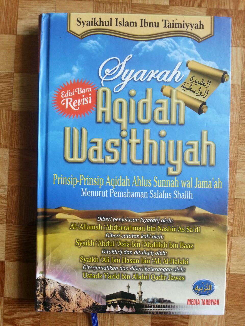 Buku Syarah Aqidah Wasithiyah Prinsip ASWAJA cover 2