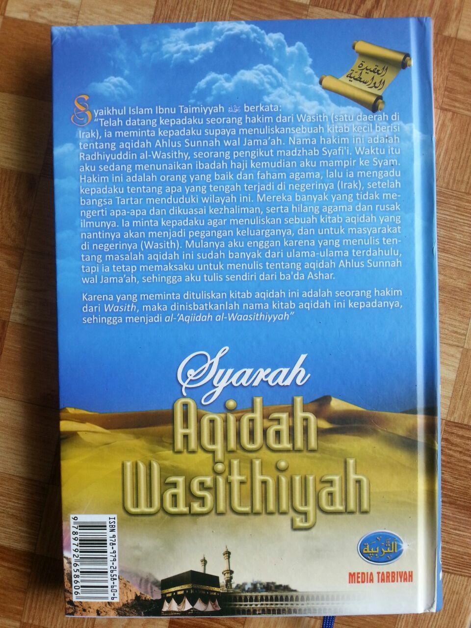 Buku Syarah Aqidah Wasithiyah Prinsip ASWAJA cover