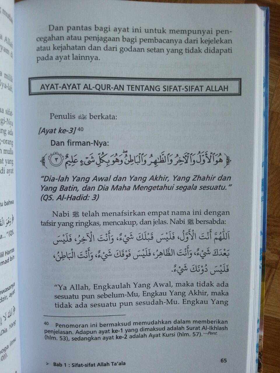 Buku Syarah Aqidah Wasithiyah Prinsip ASWAJA isi 2