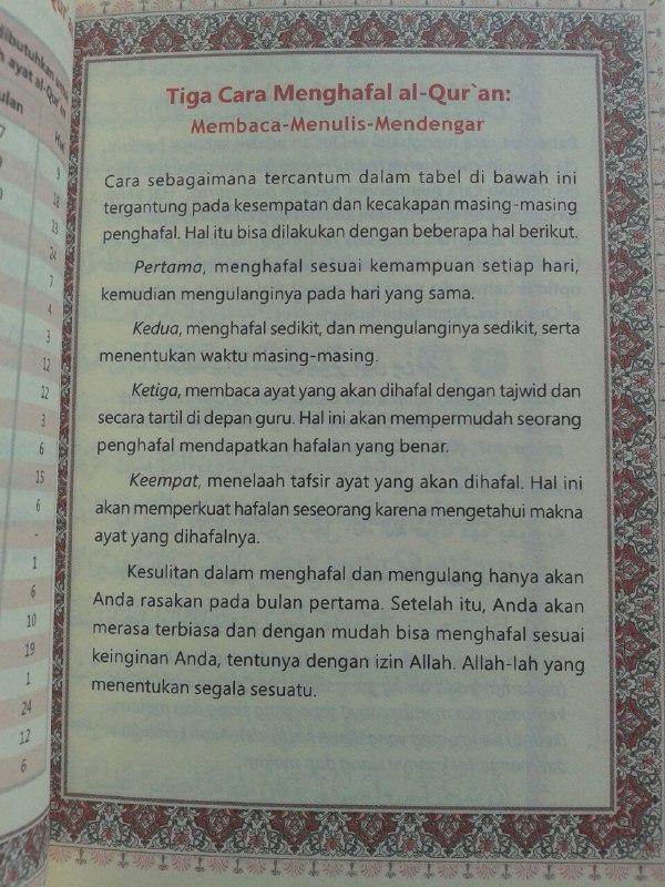 Al-Qur'an Hafalan Per 5 Juz cover 4