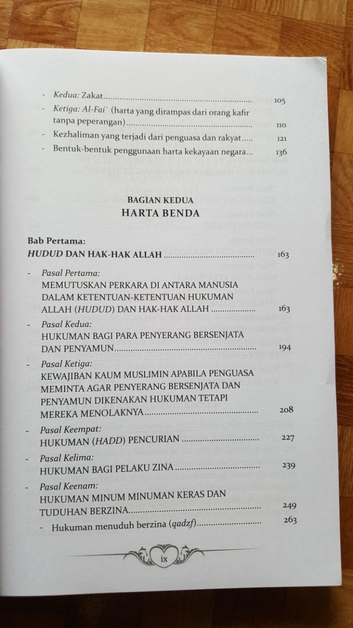 Buku Politik Islam Ta'liq Siyasah Syar'iyyah Ibnu Taimiyyah isi 3