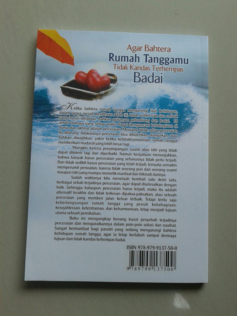 Buku Agar Bahtera Rumah Tanggamu Tidak Kandas Terhempas Badai cover