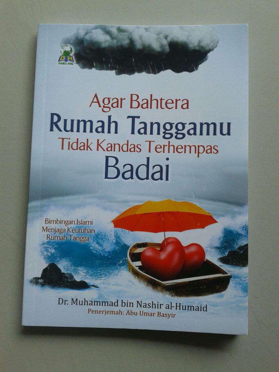 Buku Agar Bahtera Rumah Tanggamu Tidak Kandas Terhempas Badai cover 2