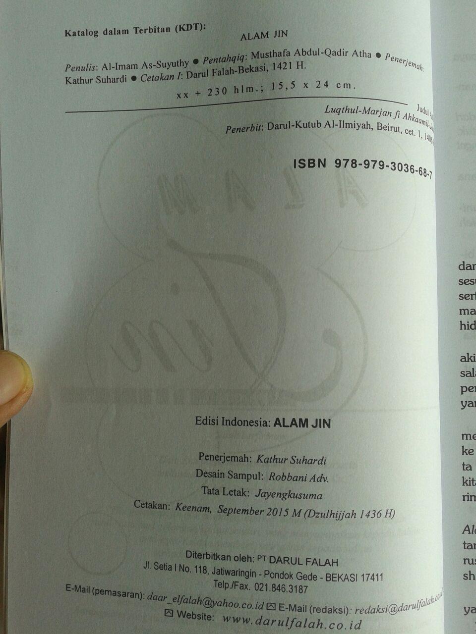 Buku Alam Jin isi 2