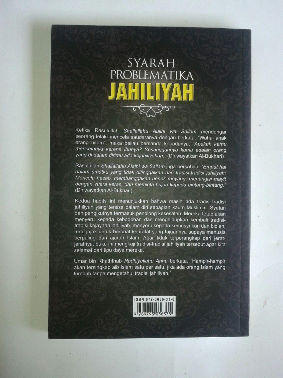 Buku Syarah Problematika Jahiliyah cover