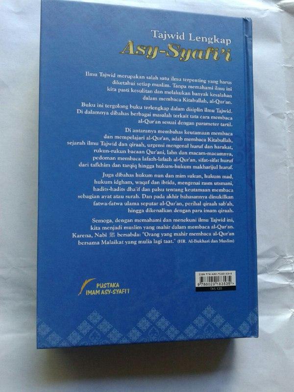 Buku Tajwid Lengkap Asy-Syafi'i cover 2