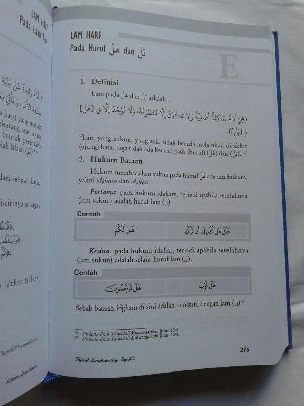 Buku Tajwid Lengkap Asy-Syafi'i isi 2