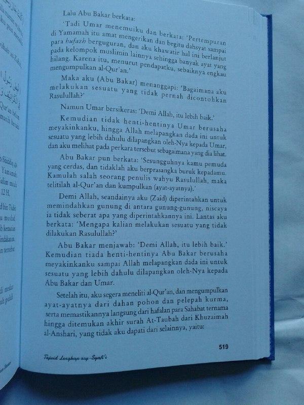 Buku Tajwid Lengkap Asy-Syafi'i isi