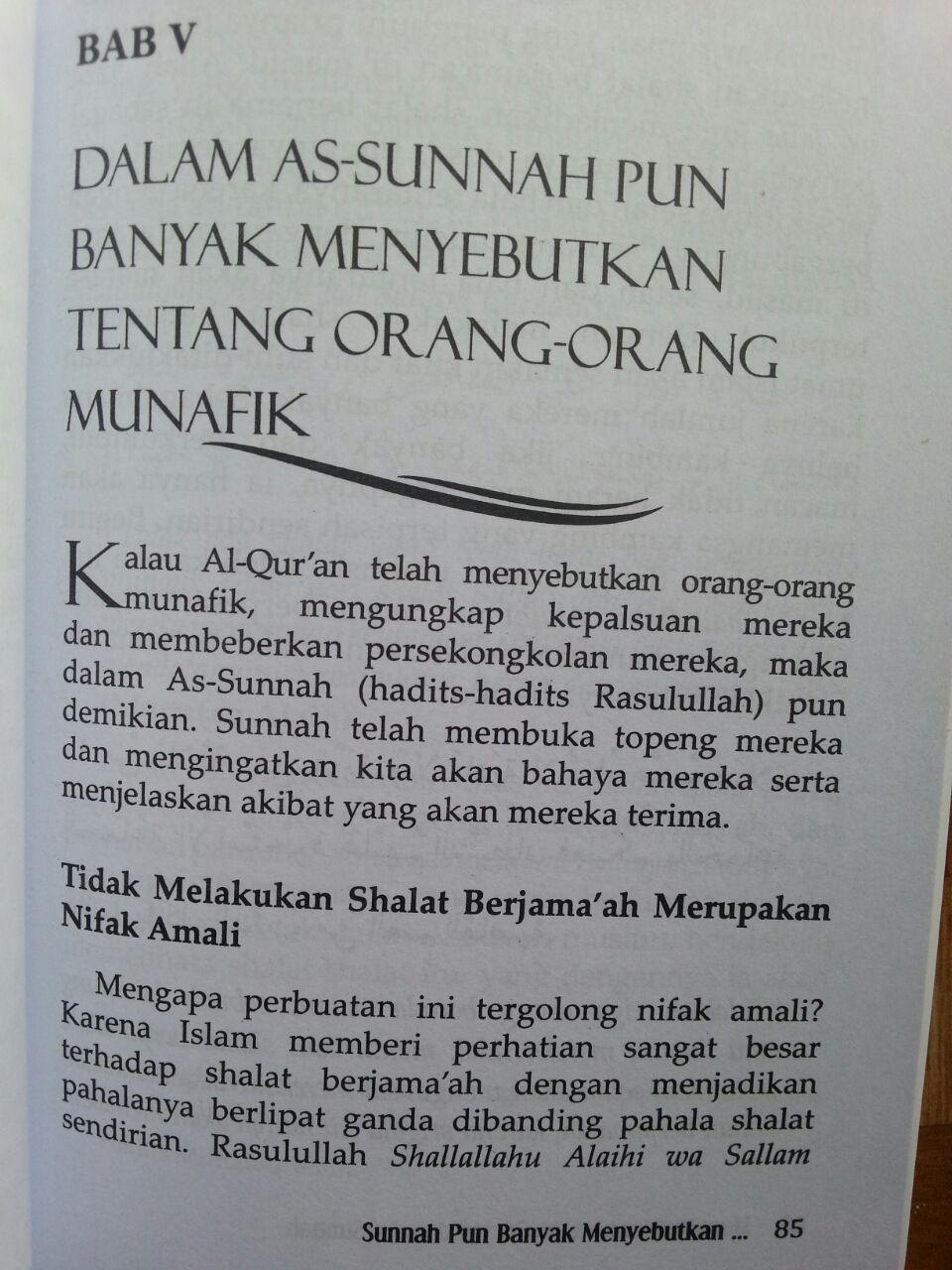 Buku Munafik Menurut Al-Quran dan As-Sunnah isi 3