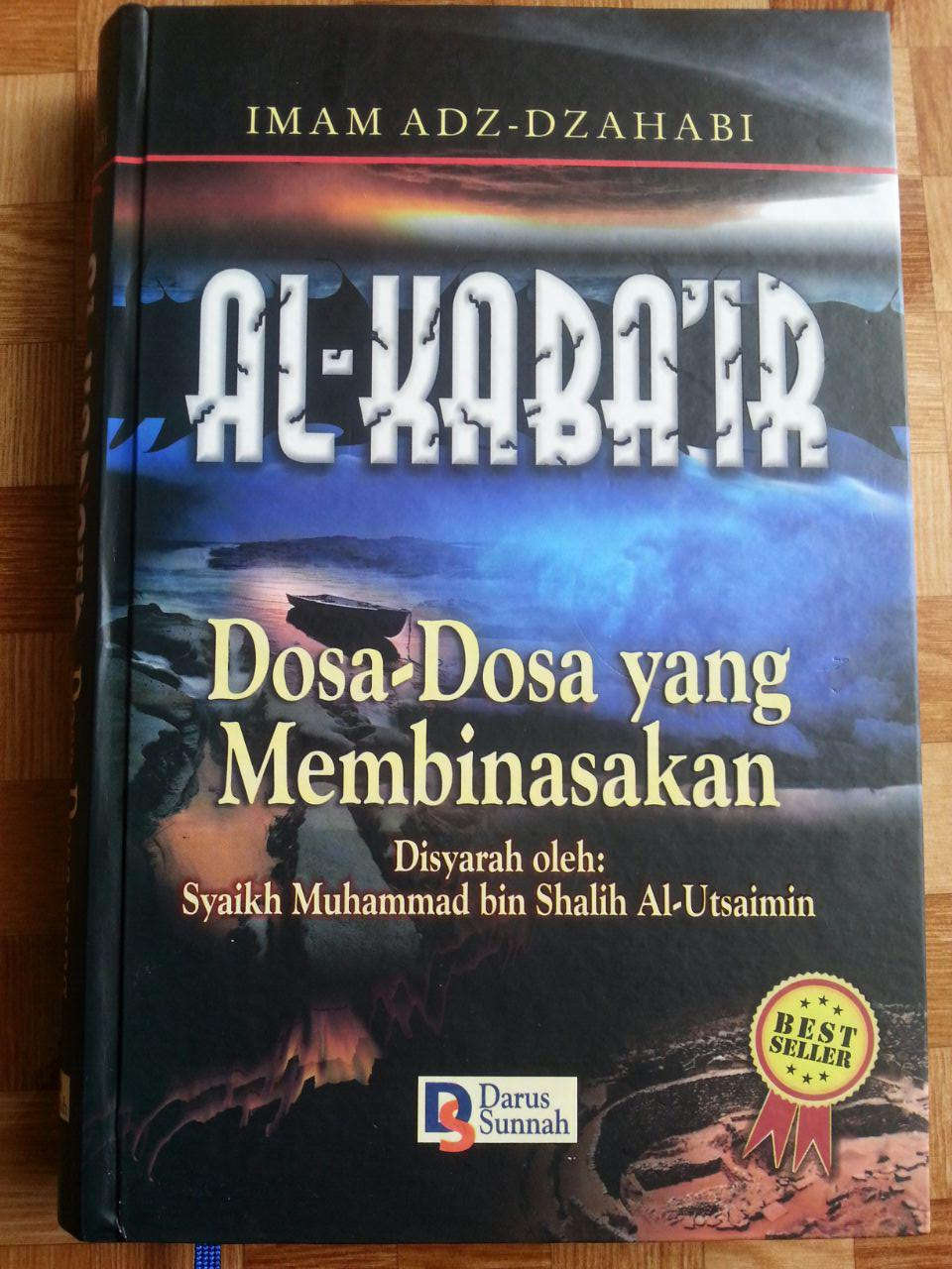 Buku Al-Kaba'ir Dosa-Dosa Yang Membinasakan cover 2