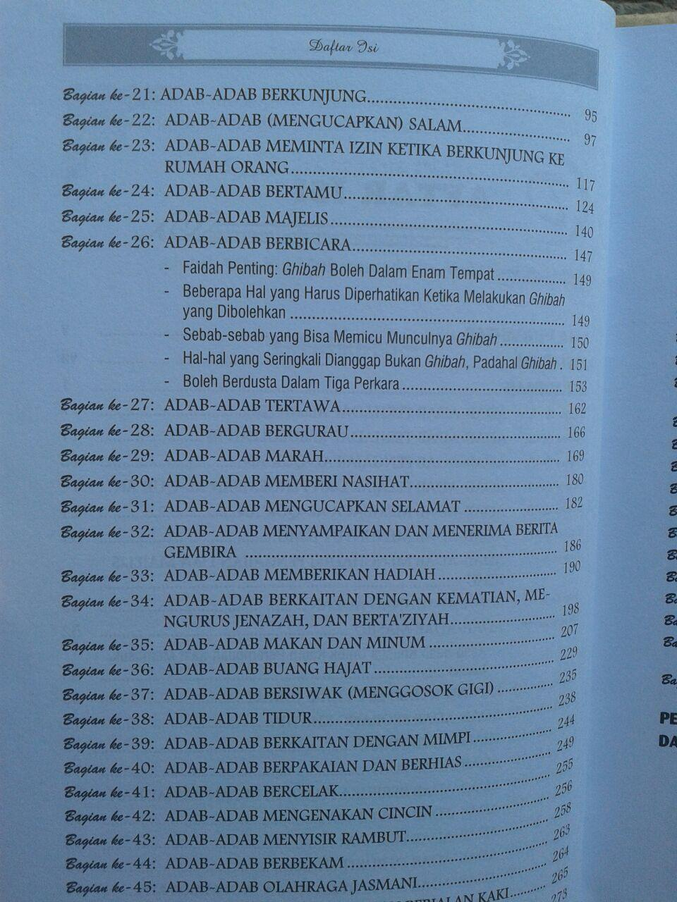 Buku Panduan Lengkap Praktis Adab dan Akhlak Islami isi 3