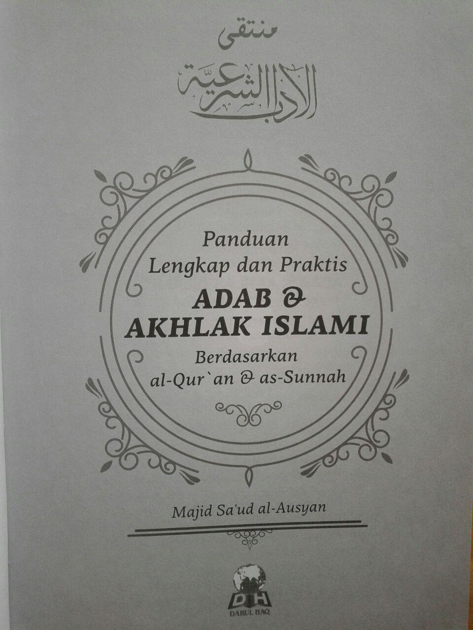 Buku Panduan Lengkap Praktis Adab dan Akhlak Islami isi 5
