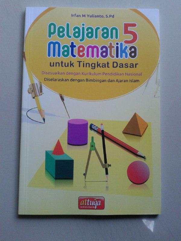 Buku Kurikulum Pelajaran Matematika Untuk Tingkat Dasar Kelas 1-6 cover